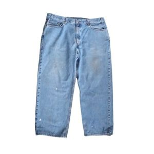Levi's Jeans 550 Relaxed Distressed 40 X 25 Actual